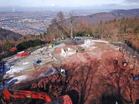 Berghotel,Königstuhl,Heidelberg,Brauhaus,Scheidtweiler,Bergbahn