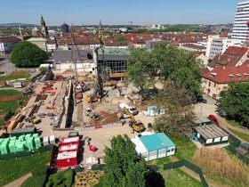 Parkhotel, Parkhotel Heilbronn, Scheidtweiler, Küffner, Experimenta, Kilianskirche, Hafenmarktturm, Harmonie, Harmonie Heilbronn