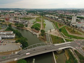 BuGa2019, BuGa Heilbronn, Buga, Neckarbogen, Karl-Nägele-Brücke, Bundesgartenschau, Bundesgartenschau Heilbronn, Neckar