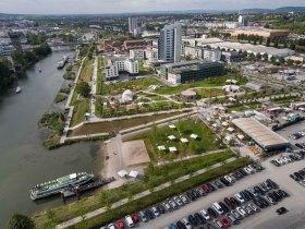 BuGa,BuGa2019,BuGa Heilbronn,Bundesgartenschau,Bundesgartenschau Heilbronn,Neckarbogen,Karlssee,Floßhafen,Wohlgelegen,Neckar,Neckarstad