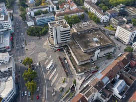Heilbronn,Heilbronn Wollhaus,Wollhaus,Wollhausturm,Neufeld Wohnbau,Busbahnhof Wollhaus