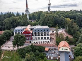 Gasthof Königstuhl,Berghotel Königstuhl,Berghotel Heidelberg,Scheidtweiler-Gruppe,Märchenparadies Königstuhl