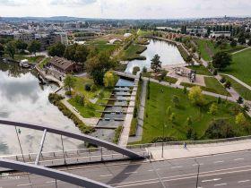 BuGa2019,Bundesgartenschau Heilbronn,Neckarbogen,Karlssee,Paula-Fuchs-Allee,Stadtquartier,internationale Schule