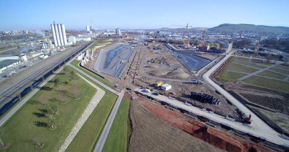 Luftbild BuGa Heilbronn