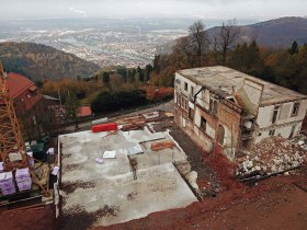 Berghotel Königstuhl, Heidelberg, Tinnunclulus, Falknerei, Heidelberger Bergbahn