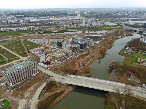 BuGa, BuGa2018, Bundesgartenschau, Bundesgartenschau Heilbronn, FSW Luftbilder, Luftbilder, Drohnenaufnahmen
